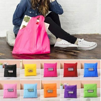 10pcs Mixed Color Reusable Storage ECO Friendly Shopping Bag Grocery Bags Tote