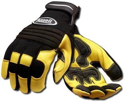 Ansell Projex® Heavy Duty Deer Leather 97-977 Workwear Safety Gloves