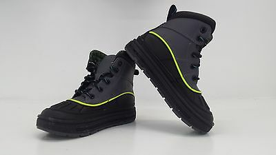 Nike ACG Woodside 2 High Boots PS Pre School Blk/Gry/Volt 524873 002 - BRAND NEW
