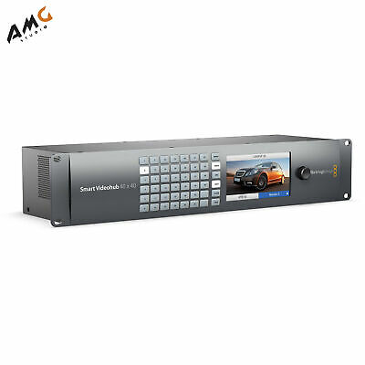 Blackmagic Design Smart Videohub 40 x 40 Router with 6G-SDI VHUBSMART6G4040