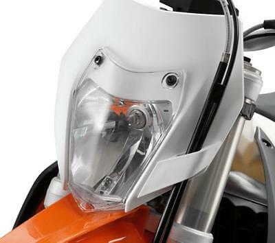 Ktm Powerparts Headlight Protection Clear (See Fitment List)
