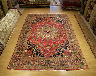 10 x 13 Handmade Antique Persian Oriental Fine Wool Rug_Great Antique Condition