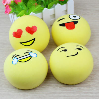 Emoji Squeeze squishy Emoji Squeeze Tension Relief Toy 10cm wide-AU