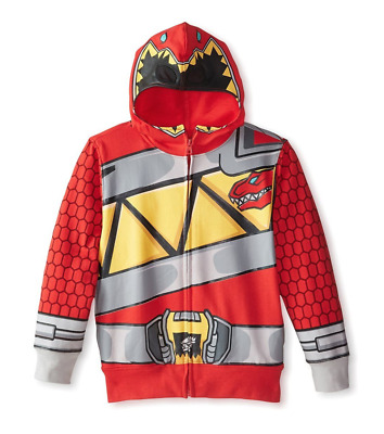Power Rangers Dino Charge Hoodie Boys Size 4-7
