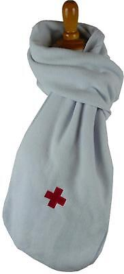 Blue Red Cross Scarf Paramedic Nurse Doctor Aid Worker Monogram Embroidered Gift