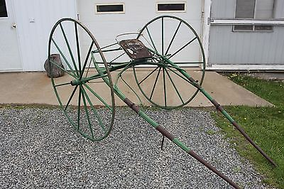 Horse Drawn Racing Sulky Carriage Buggy Wagon Sleigh Cart Antique