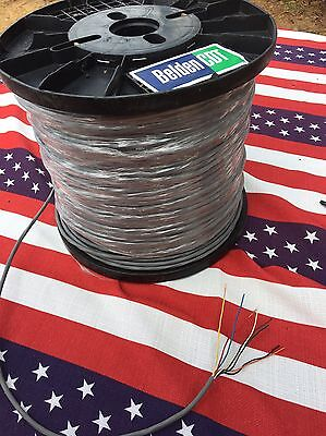 CDE CDR HYGAIN ROTOR BELDEN CABLE ANTENNA HAM ROTATOR 8 WIRE 25 Foot 18GA.