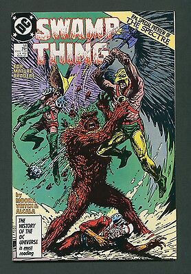 Swamp Thing #58 (1987) Alan Moore / Spectre Preview  9.2 - 9.4 NM