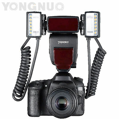 Yongnuo YN24EX Macro Master TTL Flash Speedlite for Canon with 4pcs Rings
