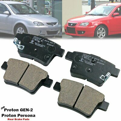 Rear Disc Brake Pad For Proton GEN 2 GEN-2 GEN2 Persona CM S4PE S4PH 1.3L 1.6L