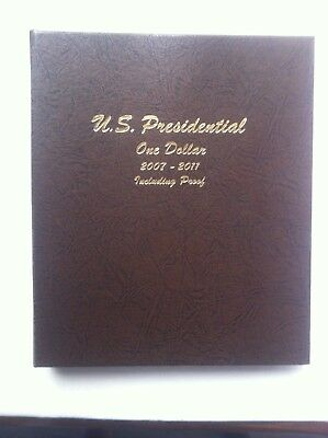 Usa Presidential Dollars 2007-2011 Inc Proofs 60 Coins Housed In Dansco Supreme