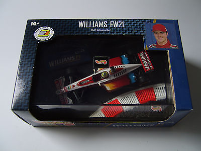 Ralf Schumacher WilliamsF1 Maßstab 1:43 HotWheels F1 Product Racing NEU; OVP;