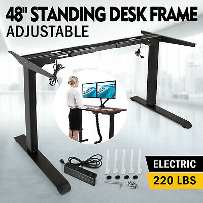 Electric Standing Desk/Table Dual Motor Frame Base Sit-Stand Lift