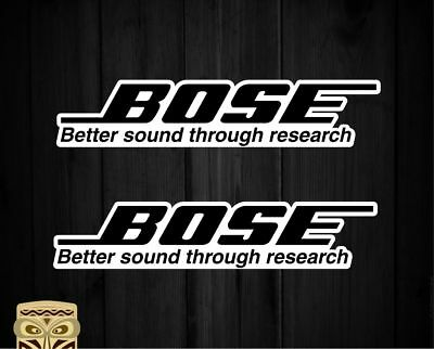 Pegatina Decal Sticker Autocollant Aufkleber Adesivi Bose Sound