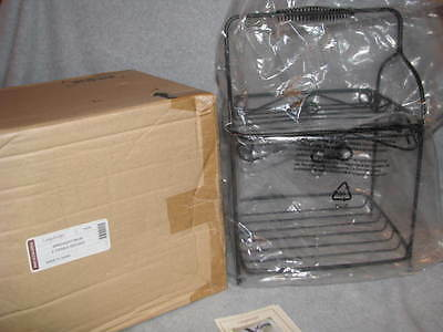 Longaberger Wrought Iron Two Tiered Server 2 Tier WI Stand Buffet Rack 71635 NIB