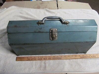 Vintage Omark Industries Inc. Drive-It 330 Nail Driver With Original Tool Box