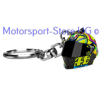 valentino rossi vr 46 schl sselanh nger helm 3d key chain. Black Bedroom Furniture Sets. Home Design Ideas