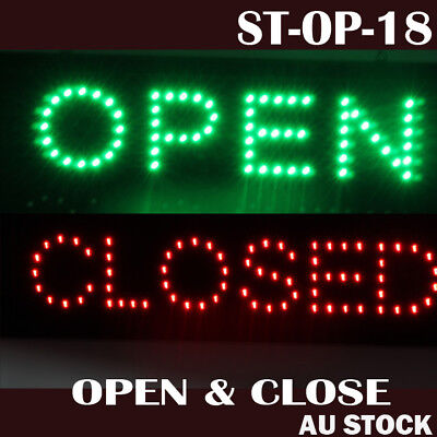 LED OPEN CLOSED sign led  Business advertising board flashing led sign