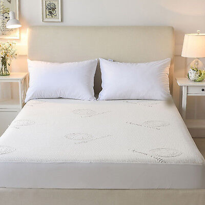SOFT HEAVEN AllAround Zipper BAMBOO COTTON QUILTED COVER for MATTRESS SelectSize