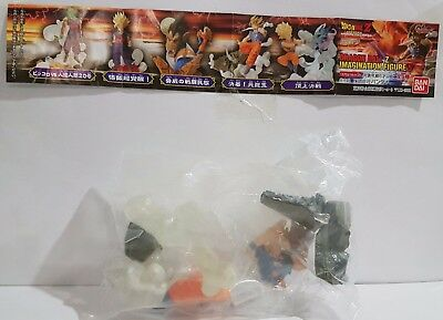 Dragon Ball Z Goku Gokou Ss Figure Figura Imagination 5 Bandai New Nueva