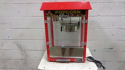Carnival King PM30R Royalty Series 8 oz. Red Commercial Popcorn Machine / Popper