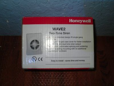 Honeywell WAVE2 Two Tone Siren – NEW IN BOX w/FREE SHIPPING