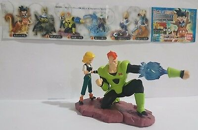 Dragon Ball Z Android 16 Android 18 Figure Figura Imagination 3 Bandai