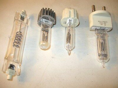 Stage / Studio Light Bulb Lot --  Ge  -- Ushio  --  Osram