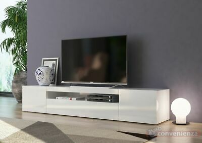 FROZEN MOBILE PORTA Tv 3 Ante Living Bianco Laccato Lucido design ...