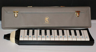Hohner Melodica piano 26/ Made in Germany/ Tasche Case Spielhefte 4+8/ Melodika