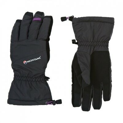 (Large) - Montane Womens Mountain Waterproof Glove - Black. Shipping Included