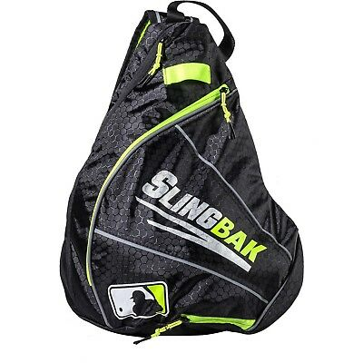 (black/opticyellow) - Franklin Sports MLB Slingbak, Multiple Colours
