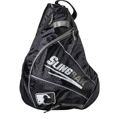 (black/grey) - Franklin Sports MLB Slingbak, Multiple Colours. Free Delivery