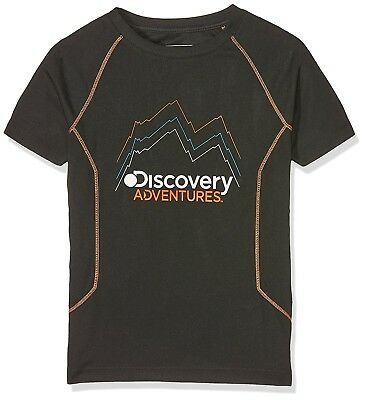 (Size 11 - 12, Black) - Craghoppers Children's Discovery Adventures Short