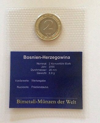BOSNIEN - HERZEGOWINA 2 Konvertible Mark 2000 / ST In Blister