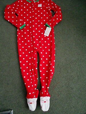 NWT JUST ONE YOU CARTER'S  Pajama's FOOTED Footie PJ's size 5T NEW BOY/GIRL