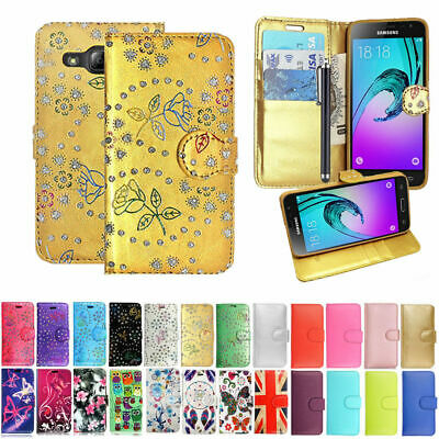 For Samsung Galaxy J3 2016 J3 pro  J320F Wallet Leather Case   New Phone Cover