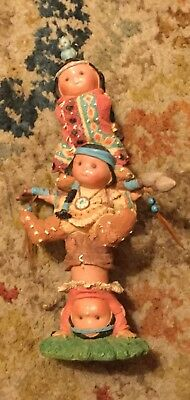Enesco Friends of the Feather 1995 Brave Support figurine