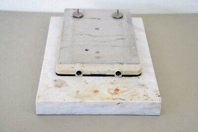 Analytical Balance Scale Marble Anchor Pad 20 X 13 X 2 Mettler Toledo (14980)D43