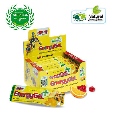 High5 Energy Gel  (38g Sachet) (Choose your own flavour variations)
