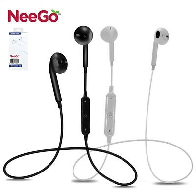 Wireless Earpiece Bluetooth Handsfree Noise Cancelling Stereo Earbuds Headset