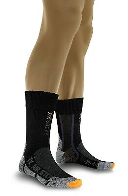 (2, Black - Black/Anthracite) - X-Socks Trekking Air Step. Huge Saving