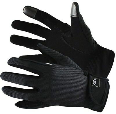(Size 6.5, Black) - Woof Wear Smartphone Riding Glove. Delivery is Free