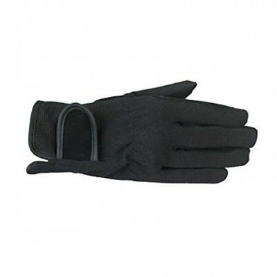 (JRM, Black) - Horze Spirit Multi-Stretch riding gloves - Child. Brand New