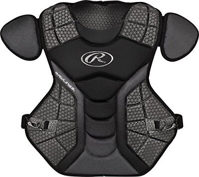 (Black/Graphite) - Rawlings Sporting Goods Catchers Chest Protector Velo