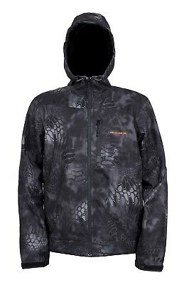 (Medium, Kryptek Typhoon Camo) - Grundens Gauge Midway Softshell Jacket