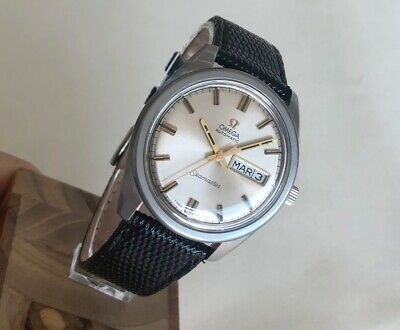 OMEGA SEAMASTER DATE-DAY 36mm AUTOMATIC Cal. 752 Ref. 168.023 STEEL MEN WATCH