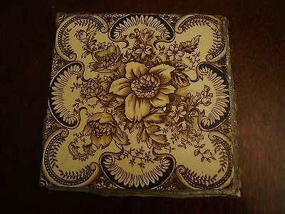 Antique Tile - Floral Pattern  17/143