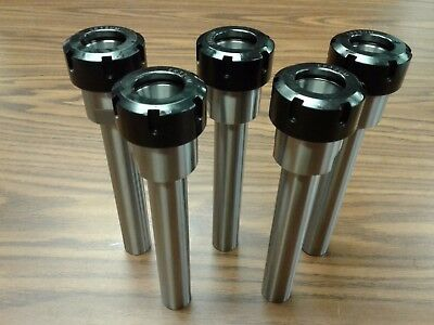 "5pcs ER32 COLLET CHUCKS 1""X6"" W. STRAIGHT SHANK,Tool Holder Set #ER32-CK1--new"
