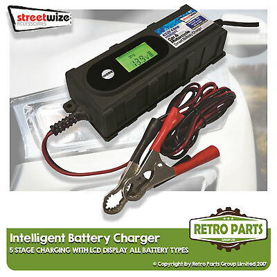 Smart Automatic Battery Charger for Alfa Romeo A11/A12. Inteligent 5 Stage